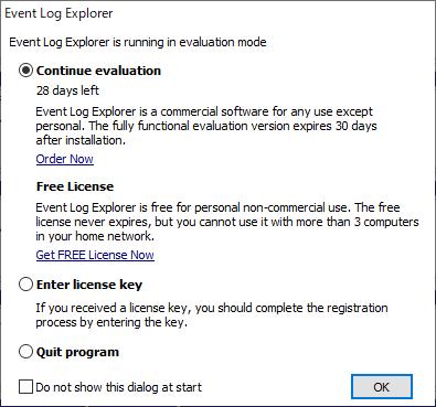 Event Log Explorer のインストール