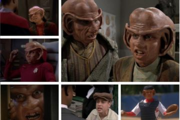 Aron Eisenberg As Nog on STARTREK: DEEP SPACE NINE