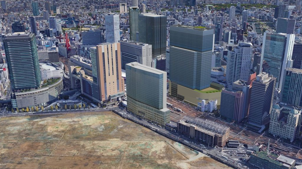 JR大阪駅 新駅ビル (仮称) 西北ビル