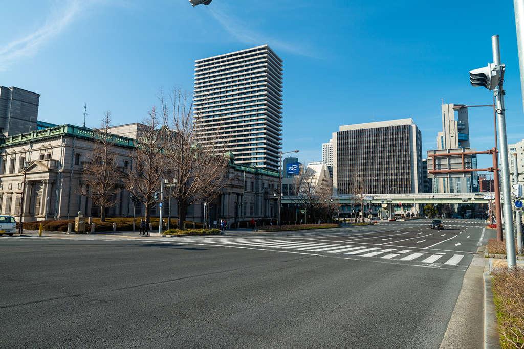 三菱ビルディング:日本銀行大阪支店と新ダイビル