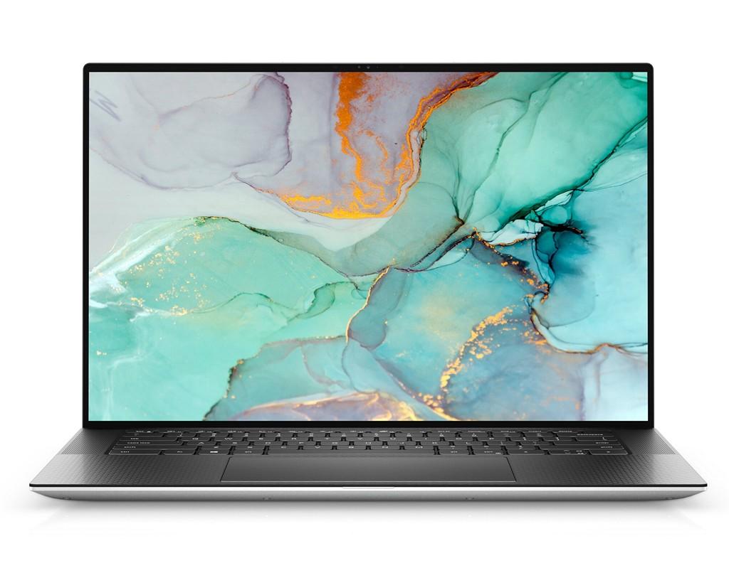 Dell XPS15 9510 前面 (出典: Dell)