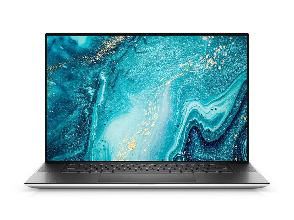 Dell XPS17 9710 前面 (出典: Dell)