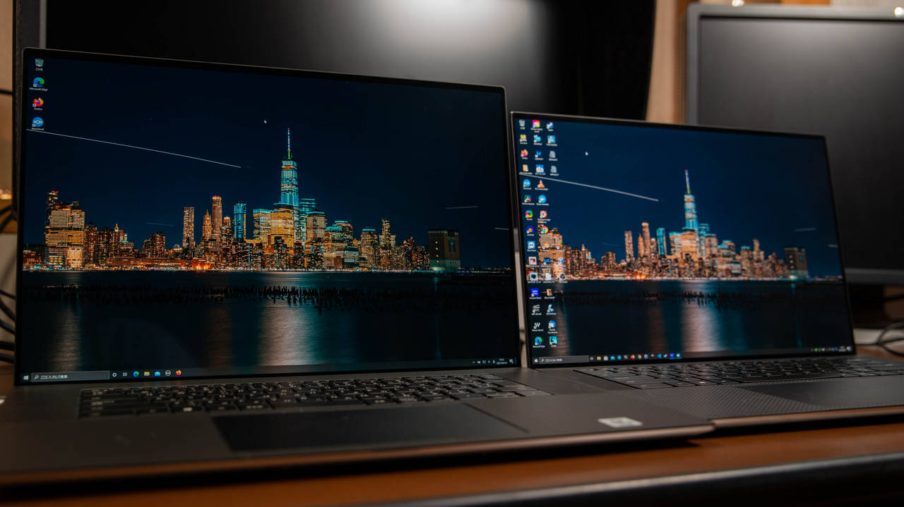 Dell XPS17 と XPS15